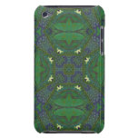 Abstract Pattern green and blue iPod Case-Mate Case