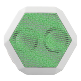 Abstract Pattern green White Boombot Rex Bluetooth Speaker