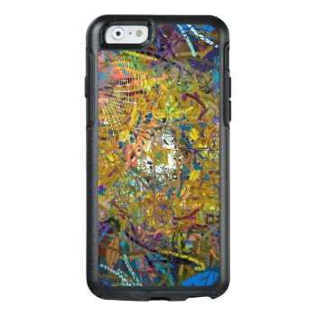 Abstract Pattern Green Otterbox Iphone 6/6s Case by Abstract_City at Zazzle