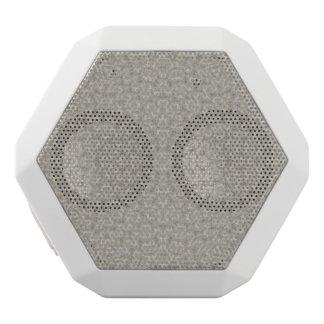 Abstract Pattern grey White Boombot Rex Bluetooth Speaker