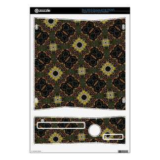 Abstract Pattern Hexagon Kaleidoscope Decals For The Xbox 360 S