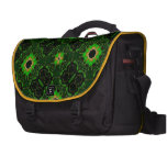 Abstract Pattern Hexagon Kaleidoscope Bags For Laptop