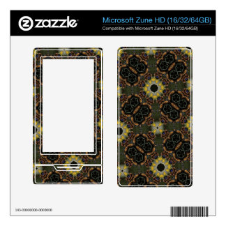 Abstract Pattern Hexagon Kaleidoscope Skins For The Zune HD