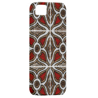 Abstract Pattern Inspired by Portuguese Azulejos iPhone SE/5/5s Case