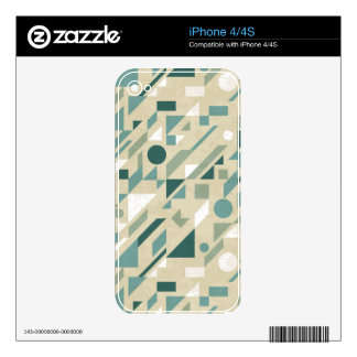Abstract pattern iPhone 4 skins