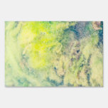 Abstract pattern lawn sign