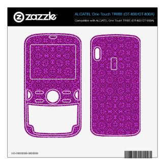 Abstract Pattern  light purple ALCATEL Tribe Skins