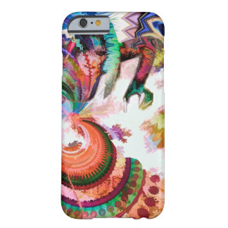 Abstract Pattern Multi Color Design Barely There iPhone 6 Case