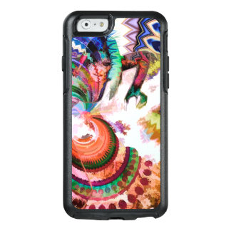 Abstract Pattern Multi Color Design OtterBox iPhone 6/6s Case