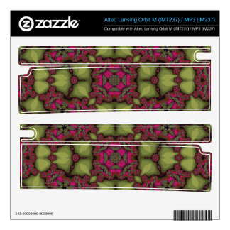 Abstract Pattern multicolored Orbit M Speaker Decals