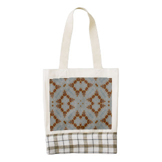 Abstract Pattern multicolored Zazzle HEART Tote Bag