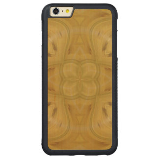 Abstract pattern of wood carved maple iPhone 6 plus bumper case