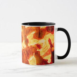 Abstract Pattern Orange Light Effect Mug