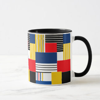 Abstract pattern . Patchwork . Mug