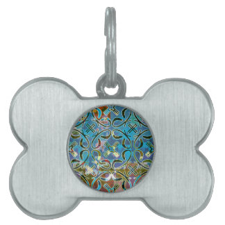 Abstract Pattern Pet ID Tag