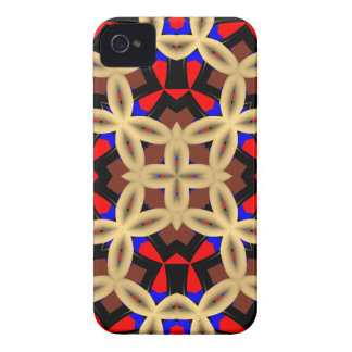 Abstract Pattern Phone 4 Case-Mate ID iPhone 4 Covers