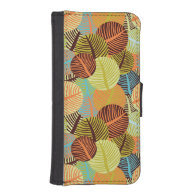 Abstract pattern phone wallet case