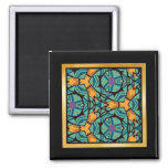 Abstract pattern Photo Magnet