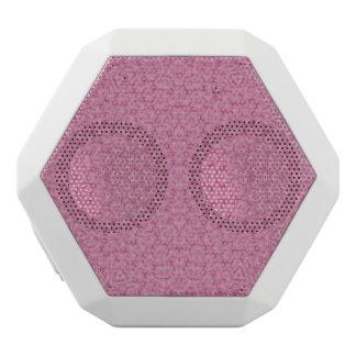 Abstract Pattern pink White Boombot Rex Bluetooth Speaker