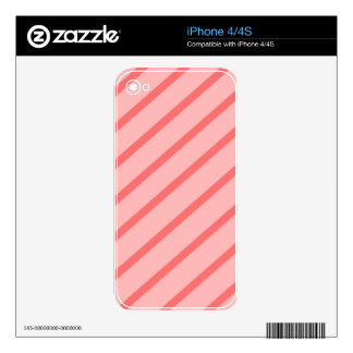 Abstract pattern - pink. skin for the iPhone 4