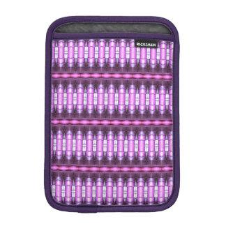 abstract pattern pink tube iPad mini sleeves