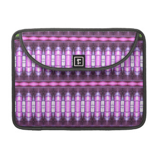 abstract pattern pink tube sleeves for MacBooks