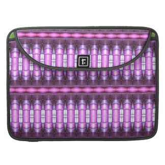abstract pattern pink tube sleeve for MacBook pro