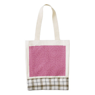 Abstract Pattern pink Zazzle HEART Tote Bag