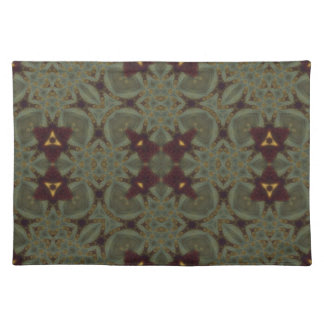 Abstract Pattern Placemats Cloth Placemat