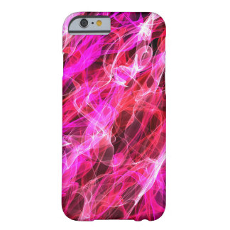 Abstract Pattern  Purple And White Haze Barely There iPhone 6 Case