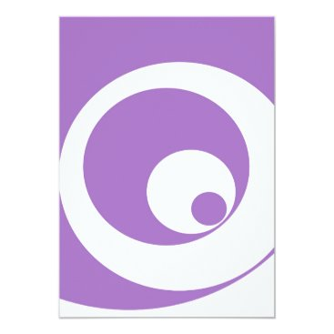Art Themed Abstract pattern - purple. card