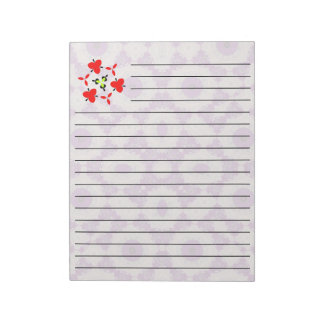 Abstract Pattern purple cool unique pattern Notepad