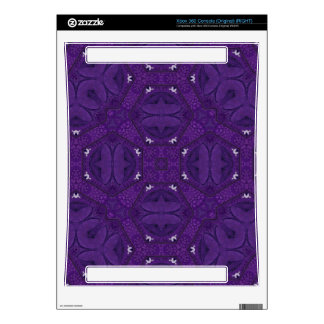 Abstract Pattern purple Decal For The Xbox 360