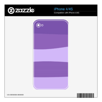 Abstract pattern - purple. iPhone 4S decal