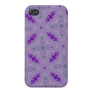 Abstract Pattern Purple iPhone 4 Cover