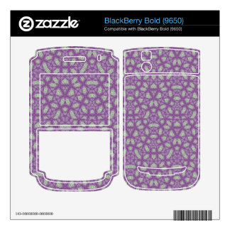 Abstract Pattern Purple Skin For BlackBerry Bold