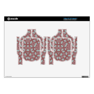 Abstract Pattern Red Headset Skin