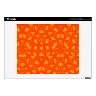 "Abstract Pattern red yellow 14"" Laptop Skin"