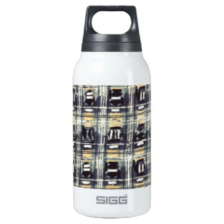 abstract pattern 10 oz insulated SIGG thermos water bottle