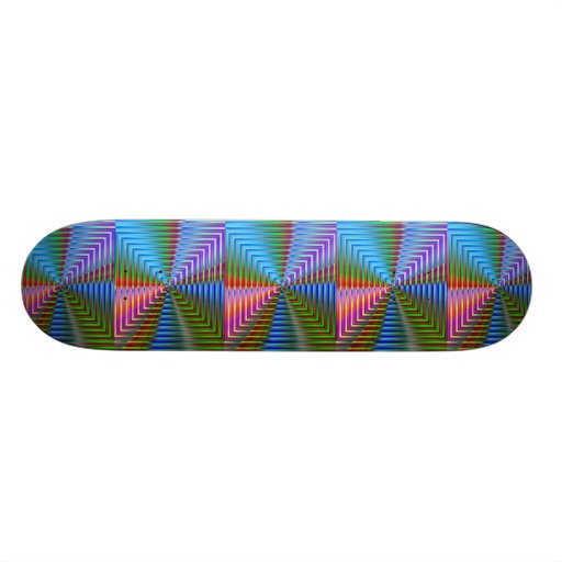 Abstract Pattern Skate Deck