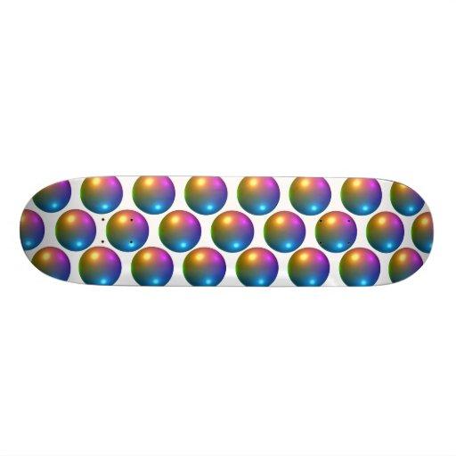 Abstract Pattern Custom Skate Board