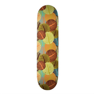 Abstract pattern skateboard deck