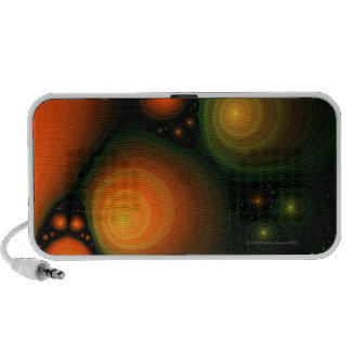 Abstract pattern mp3 speakers