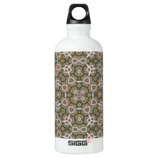 Abstract Pattern Water Bottle