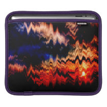 Abstract Pattern Wavy Colors iPad Sleeve
