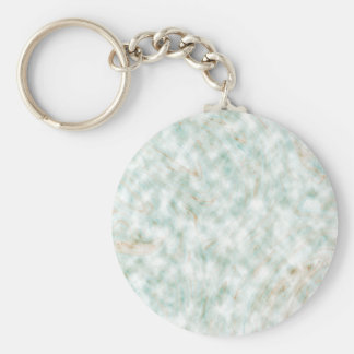 Abstract Pattern White Background Whirls Keychain