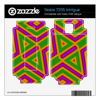 abstract pattern with lines nokia 7205 intrigue decal