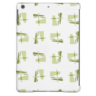 Abstract Pattern yellow brown iPad Air Case