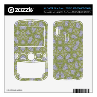 Abstract Pattern Yellow ALCATEL Tribe Skins