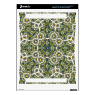 Abstract Pattern yellow Xbox 360 Decals